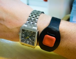 Wrist PERS compare to wrist watch